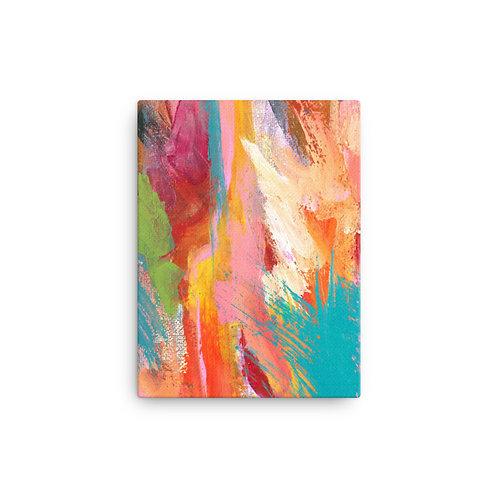 Color Tide Canvas Print