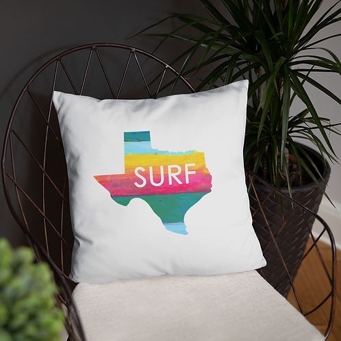 Surf Texas White SoBudd Pillow
