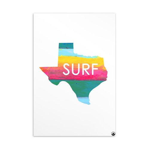 Texas Surf Standard Postcard