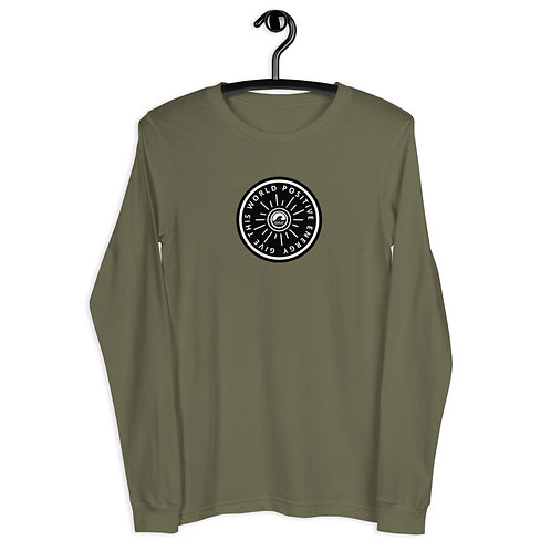 Give This World Positive Energy Unisex Long Sleeve Tee