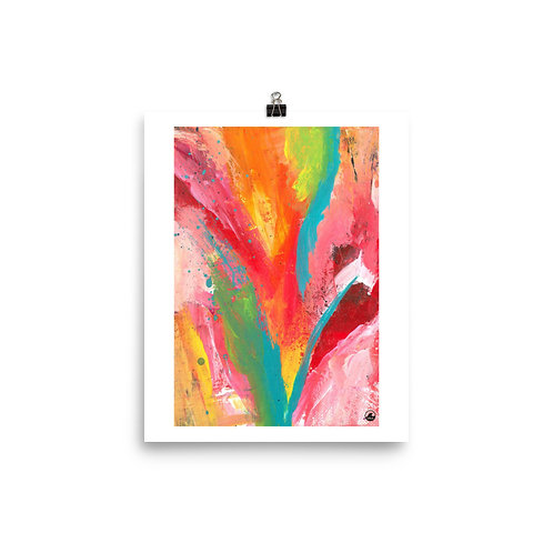 "The Good Life   8""x10""  Abstract Museum-quality Poster"