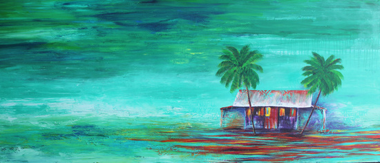 The Shack  36x72