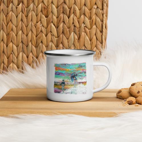Gypsies of The Sea Enamel Mug