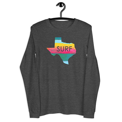 Surf Texas Unisex Long Sleeve Tee