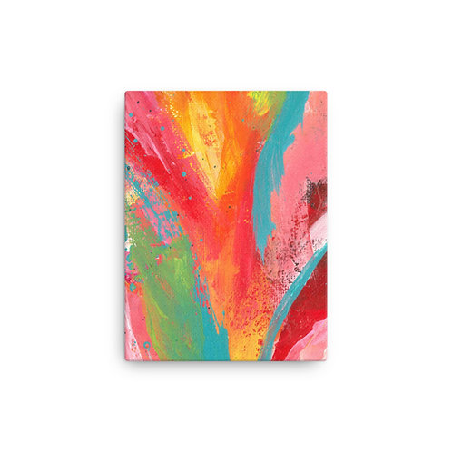 The Good Life Canvas Abstract Print