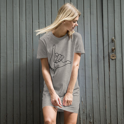 Good Vibes Shaka Organic cotton t-shirt dress