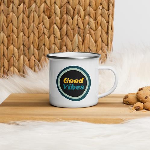 Good Vibes Enamel Mug