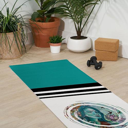 Let That Shit Go Yoga Mat