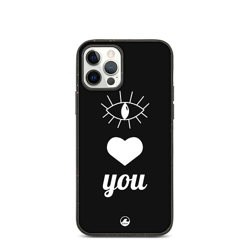 Eye Heart You Biodegradable phone case by SoBudd