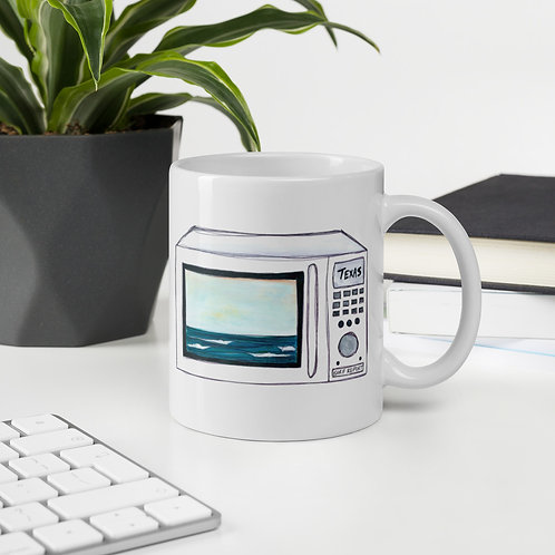 Texas Surf Report Microwaves Mug