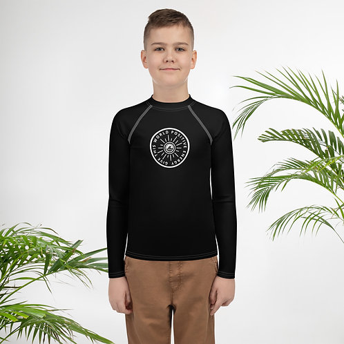 Give This World Positive Energy Youth Rash Guard