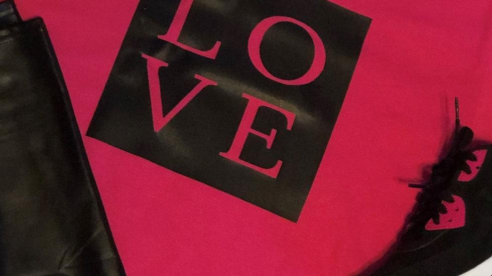 Pink Love-Black