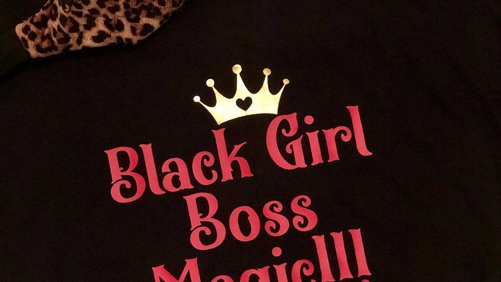 Black Girl Boss Magic-Red/Black