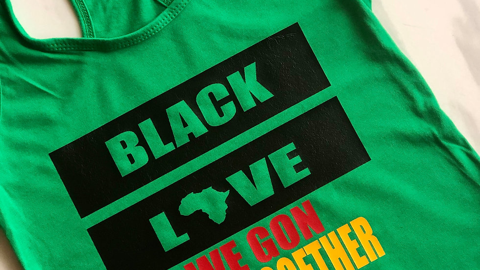Black Love- Green/Blk/Red/Yellow
