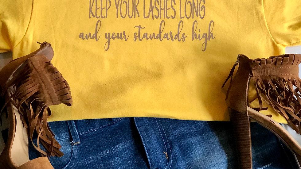 Lashes Long-Yellow/Khaki