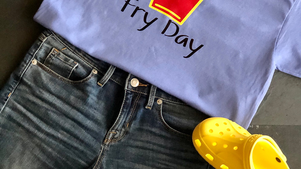 Fry Day-Lilac/Yellow/Red/Black