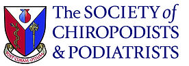 The Society of Chiropodists & Podiatrist logo
