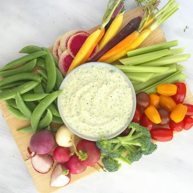 Nourish Cookbook - Green Goddess Dip