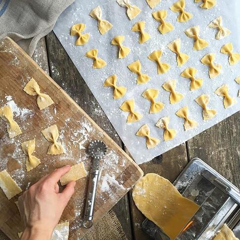 Fresh Farfalle Pasta