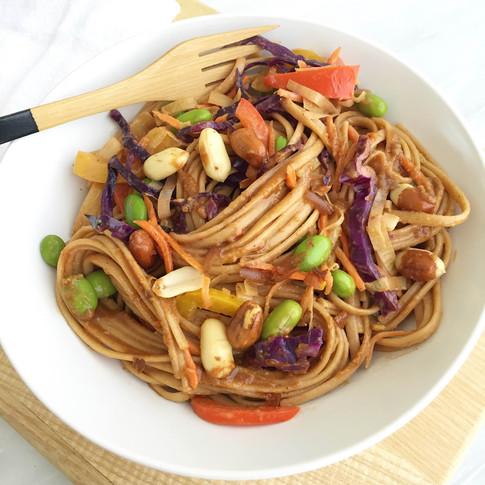 Nourish Cookbook - Thai Peanut Noodle Salad