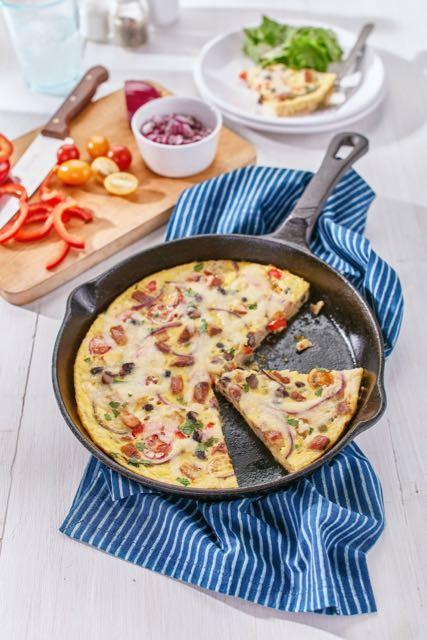 Burnbrae Farms - Scrambled Vegetarian Hash Brown Pizza