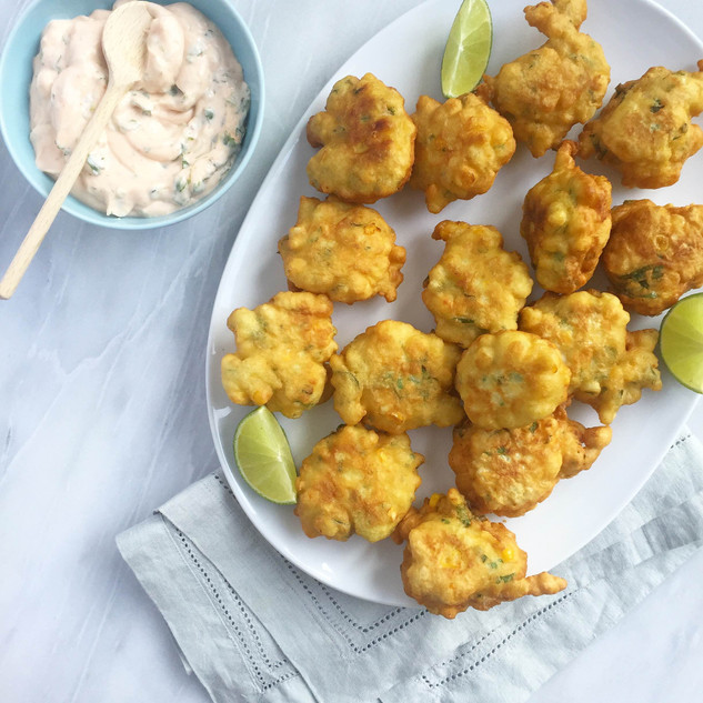 Corn Fritters - Heritage Cookbook