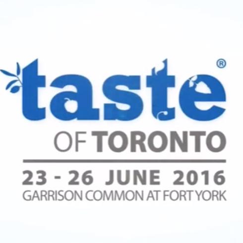 Host at Taste of Toronto - Metro Master Class