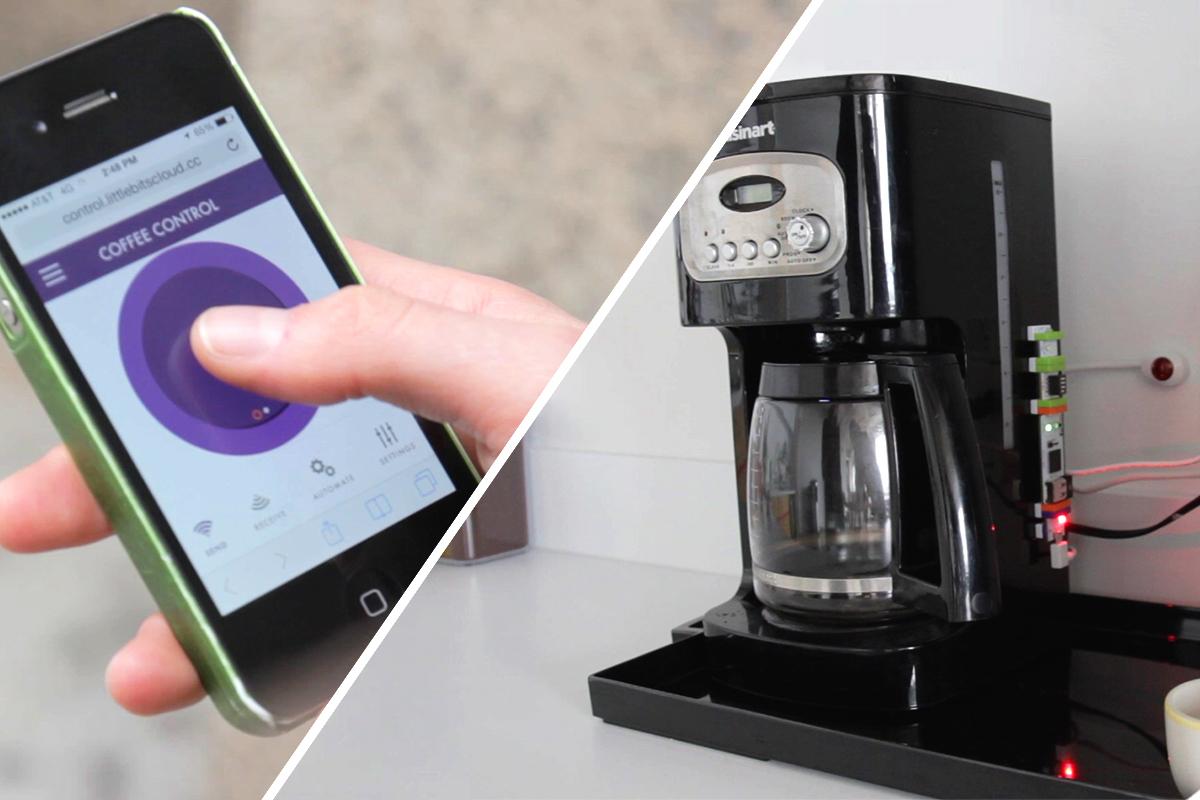 Remote Coffee Maker Project