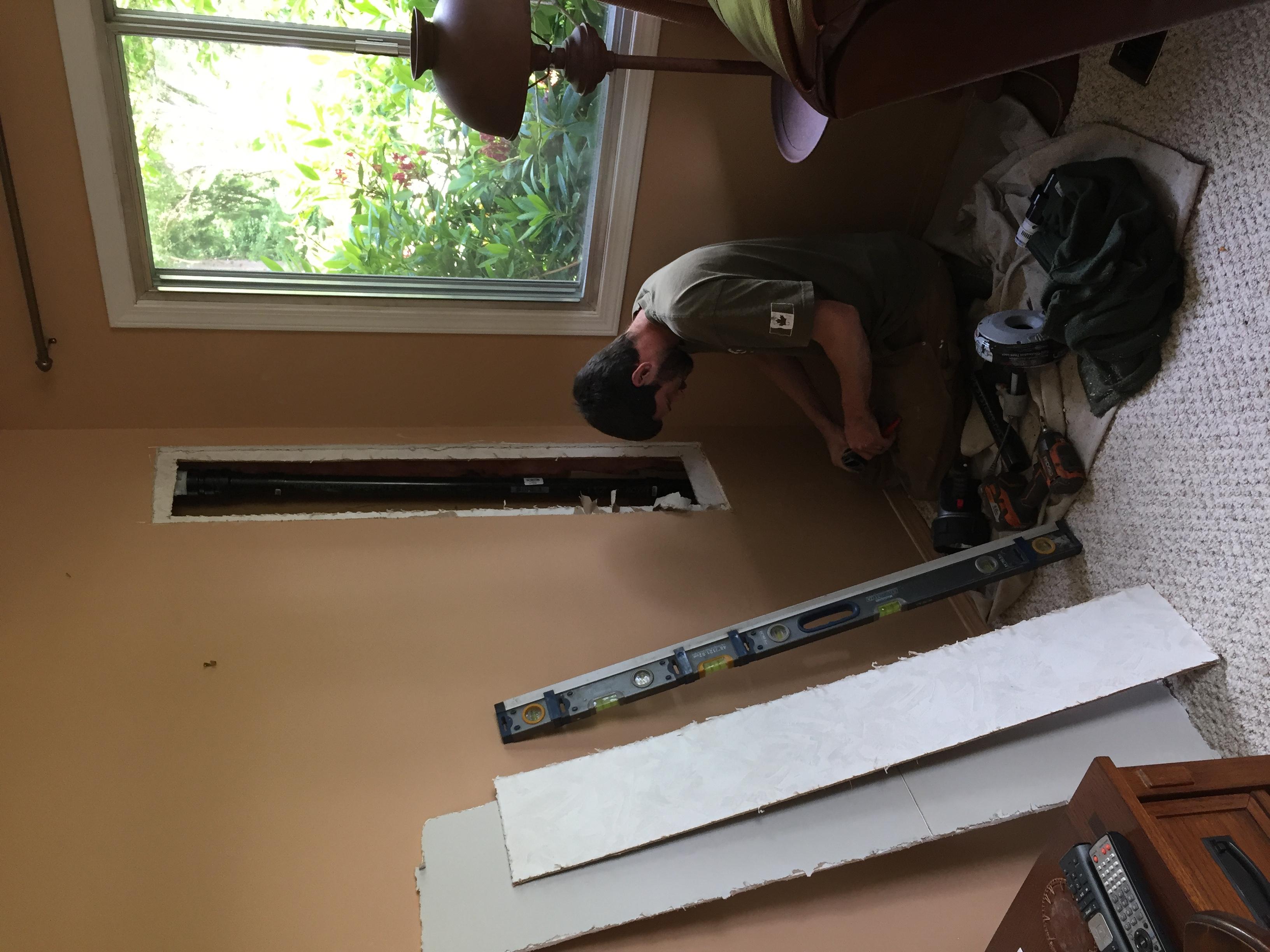 Existing Plumbing Repair