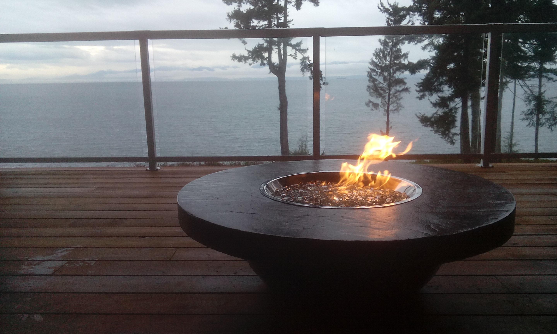 Firepit installation