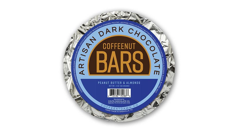 Coffee-Nut Bars (Artisan Dark Chocolate)