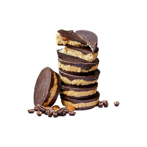 CoffeeNut Bars Artisan Milk Chocolate (2 or 6 Pack)