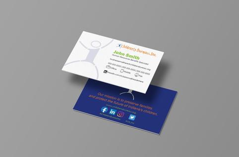 Children's Bureau, Inc. Business Cards
