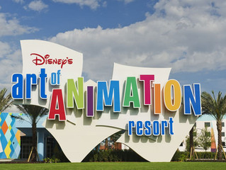 Review of Walt Disney's Art of Animation Resort