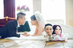 結婚公仔、婚禮公仔、車頭公仔