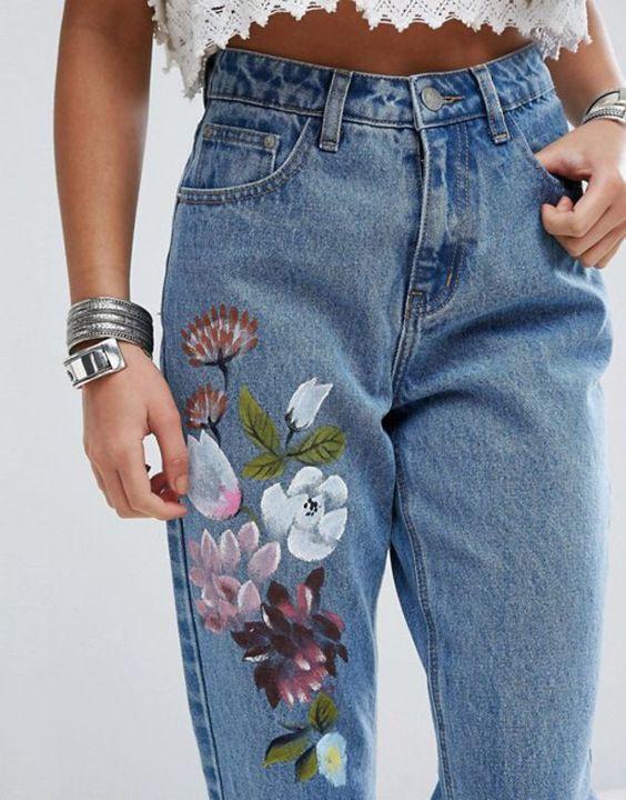 Кастомизация джинс