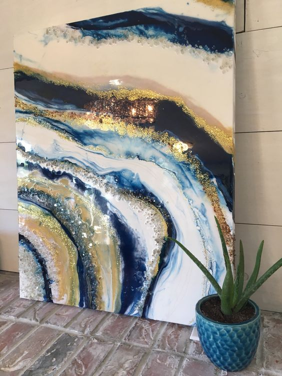 resin art студия краски