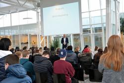 Hackathon EUC Nord med erhvervsplaymaker Thomas Overgaard
