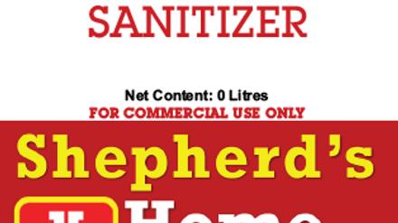 Organic Sanitizer, 20L