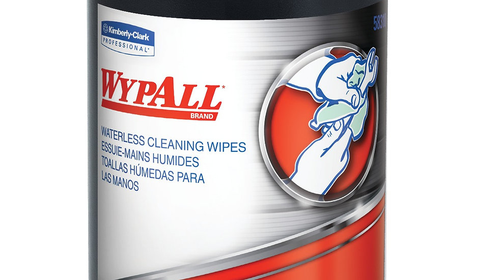 WYPALL - Waterless Cleaning Wipes