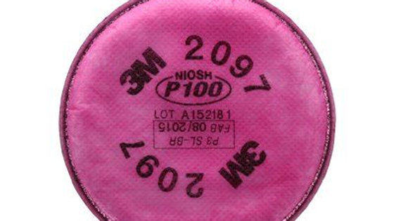 3M - Particulate Filter, 2097, P100, with nuisance level organic vapour relief