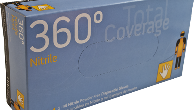 Watson Nitrile Gloves - 2222PF 360° Total Coverage