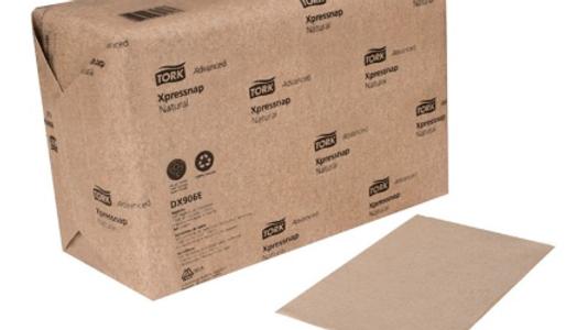TORK  12 Case 500 Sheet Xpressnap Natural Paper Table Napkins