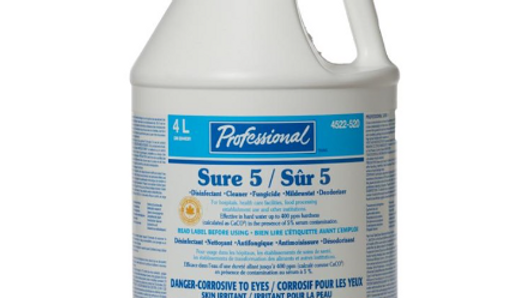 Home Professional - Sure 5 All Purpose Cleaner & Disinfectant, 4L