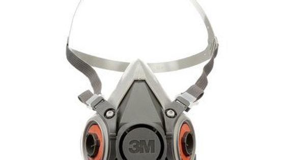 3M - Half Facepiece Resuable Respirator, 6200, medium
