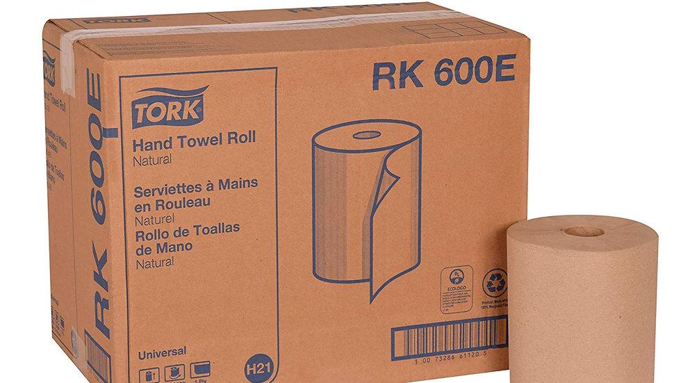 Tork RK600E Advance Roll Towel, Natural