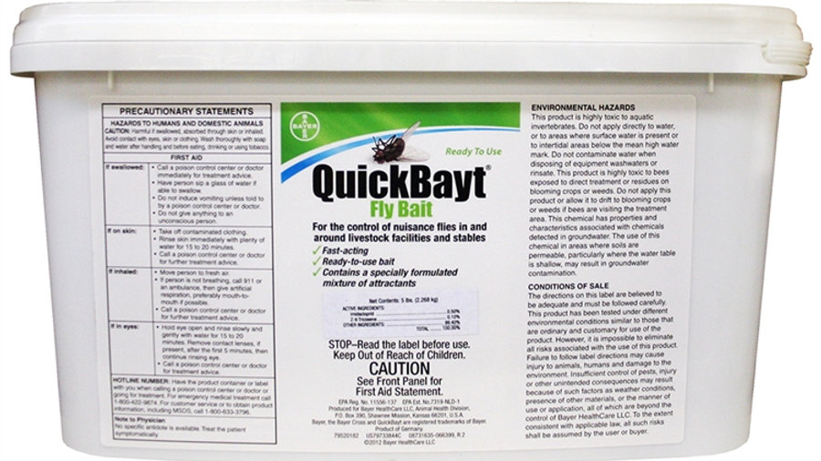 Quickbayt Fly Bait, 2.26kg
