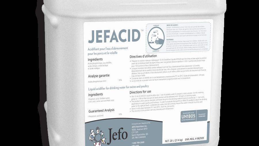 Jefo - Jefacid, 20L