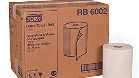Tork RB6002 Universal Roll Towel, White