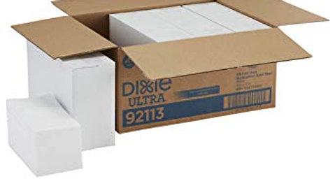 Dixie 1/6 Fold Linen Replacement Guest Towels, 4 packs x 200 each